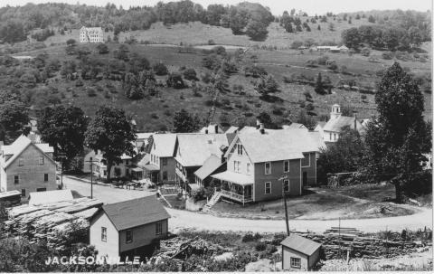 historic Village of Jacksonville Vermont