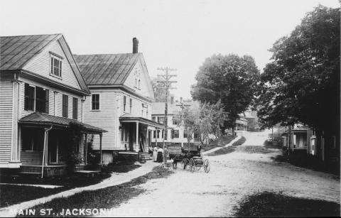 Main Street Jacksonville Vermont