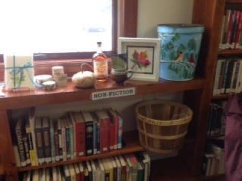 Nonfiction Library Shelf